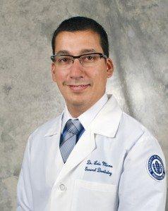 Luis Miron, D.M.D. (Bill Hengstenberg for UConn Health Center)